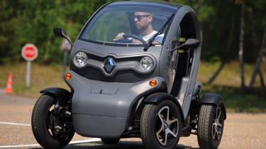 Renault Twizy cornering