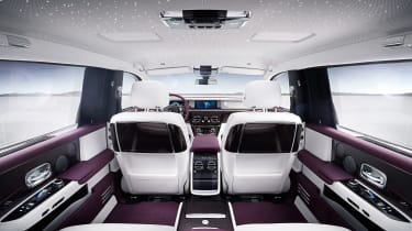 Rolls-Royce Phantom - seats