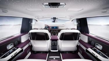 Rolls-Royce Phantom - seats