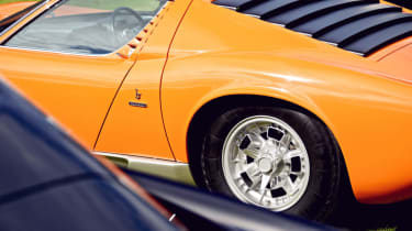 Lamborghini Miura S rear quarter