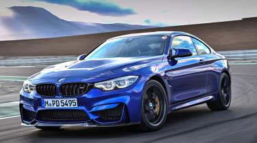 BMW M4 CS 2017 driving