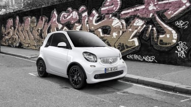 Smart ForTwo white