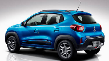 Renault City K-ZE - rear blue