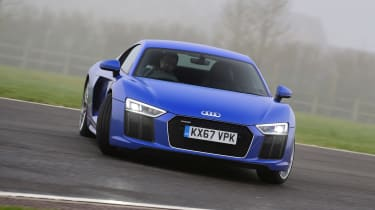 Audi R8 RWS - drift