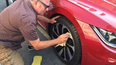 Volkswagen Arteon - cleaning