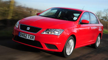 The SEAT Toledo is a spacious and practical family saloon.