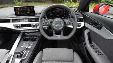 Used Audi A4 Mk5 - dash