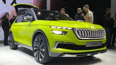 Skoda Vision X - Geneva front