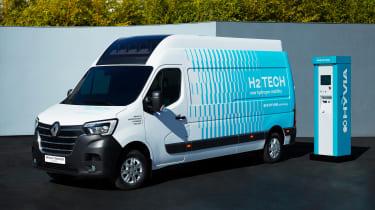 Hydrogen-powered Renault Master Van