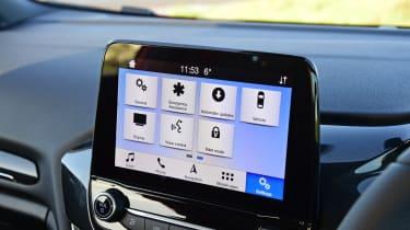Ford Fiesta Sport Van screen