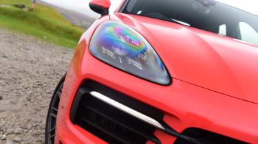 Porsche Cayenne Coupe - headlight