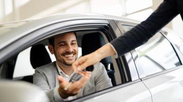 Exchanging keys in dealership
