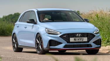 Hyundai i30 N Performance DCT - cornering