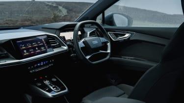 Audi Q4 e-tron 2021  interior