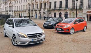 Mercedes B-Class vs rivals