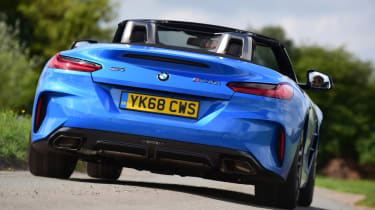 BMW Z4 M40i - full rear