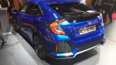 Honda Civic - Paris front three quarter