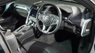 New Honda NSX 2015 white interior