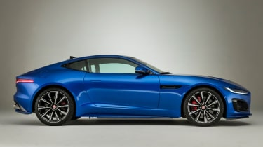 Jaguar F-Type - side static