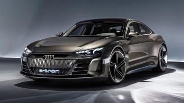 Audi e-tron GT concept - front studio