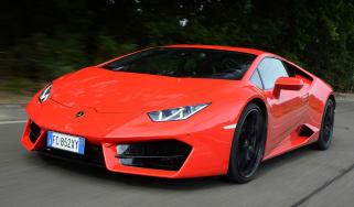 Lamborghini Huracan LP580-2 - front tracking