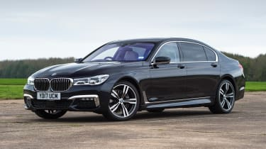 BMW 730Ld M Sport - front