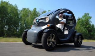 Renault Twizy front track