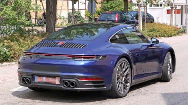 Next generation Porsche 911 exhaust