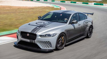 Jaguar XE SV Project 8 - front action