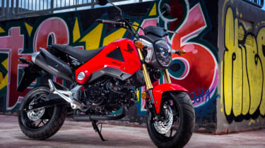 Honda MSX 125 review - parked