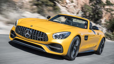 Mercedes-AMG GT C Roadster 2017 - front tracking