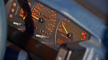 Nissan Bluebird - dials