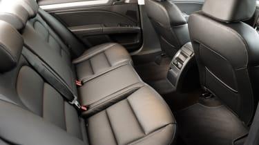Skoda Superb Estate 4x4 rear seats