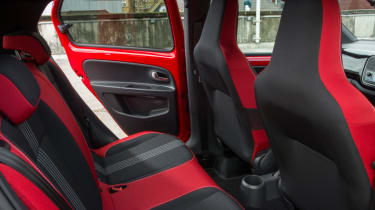 Triple test – Skoda Citigo - rear seats