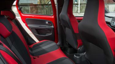 Triple test –Skoda Citigo - rear seats