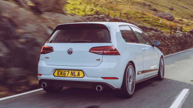 VW Golf GTI & R Mountune rear tracking