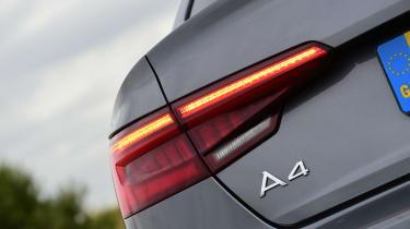 Audi A4 long-term test - rear light detail