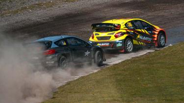 Rallycross Championship 5 Nations Trophy - Ford Fiesta vs Peugeot 208