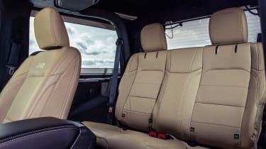 Jeep Wrangler  - rear seats