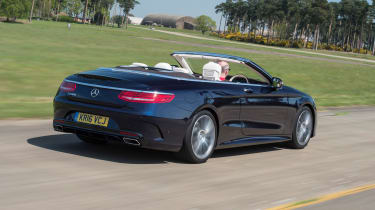 Mercedes S 500 Cabriolet 2016 - rear tracking