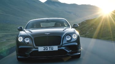 Bentley Continental GT Supersports 2017 - video front