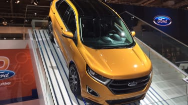 Ford Edge goes off road at Frankfurt