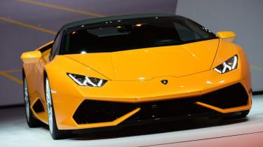 Lamborghini Huracan Spyder at Frankfurt