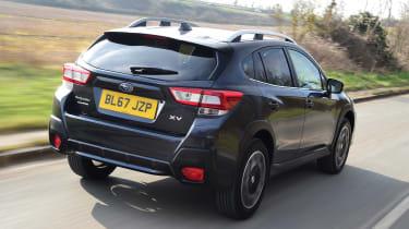 Subaru XV - rear action