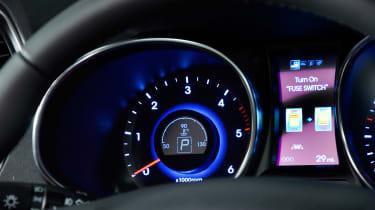 Used Hyundai Santa Fe - dials