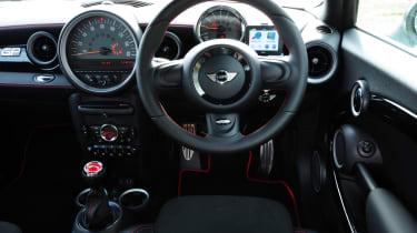 MINI JCW GP interior