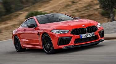 BMW M8 - front