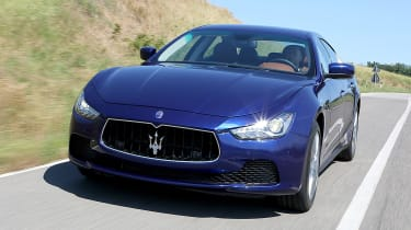 Used Maserati Ghibli - front action