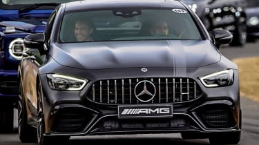 Mercedes-AMG GT four-door front grille