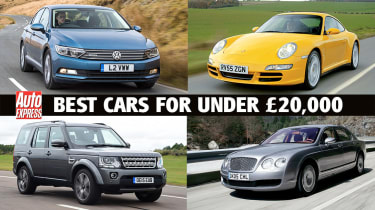 Best cars for under £20,000